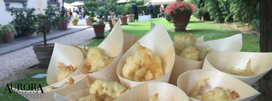Street food per un catering di matrimonio originale