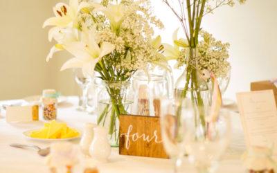 Allestimenti per matrimoni: le regole per disporre al meglio i tavoli