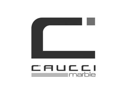 logo caucci marble