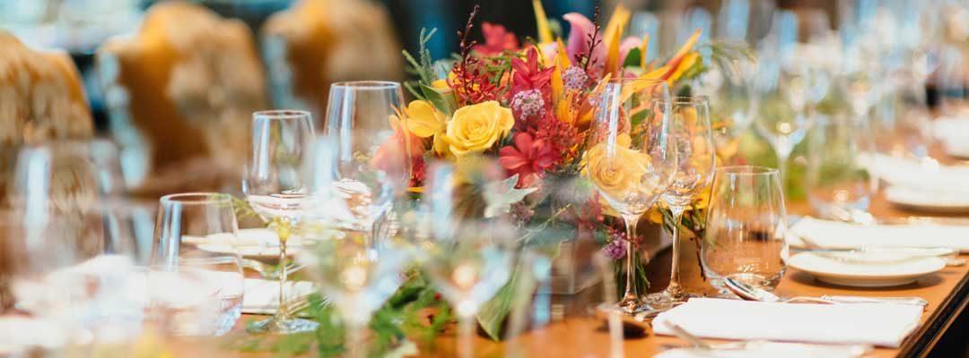 Catering matrimonio: i colori di moda per le tue nozze